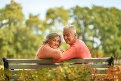 lyckligt gammalt för par Royaltyfri Foto