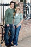 lyckligt gift för par Arkivbilder