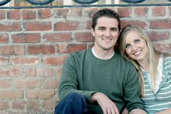 lyckligt gift för par Royaltyfria Foton