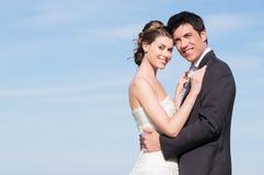 Lyckligt gift par arkivbild