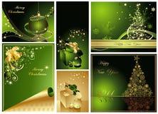 lyckligt glatt nytt år för jul Royaltyfria Foton