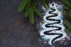 lyckligt glatt nytt år för jul Abstrakt förtjusande jul royaltyfria foton