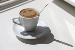 lyckligt kaffe Arkivfoton