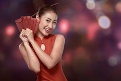 lyckligt kinesiskt begrepp för nytt år arkivbild