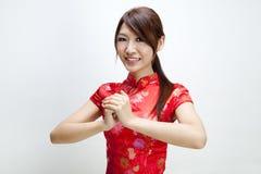Lyckligt kinesiskt nytt år Royaltyfria Foton