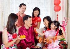 Lyckligt kinesiskt nytt år Arkivbild