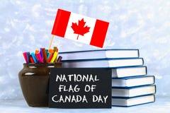 Lyckligt kort eller bakgrund för Kanada daghälsning Royaltyfri Fotografi