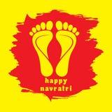 Lyckligt kort för diwali- eller navratrifestivalhälsning Royaltyfria Bilder