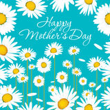 Lyckligt kort för hälsning för dag för moder` s Royaltyfri Fotografi