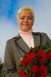 lyckligt kvinnabarn Royaltyfria Bilder