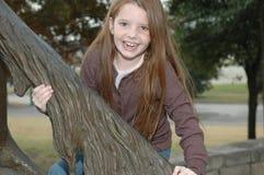 lyckligt le för flicka royaltyfri foto