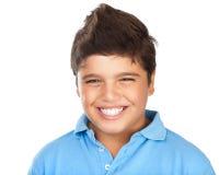 lyckligt le för pojke Arkivfoton