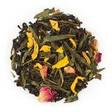 Lyckligt nummer 7 för svart te Arkivfoto