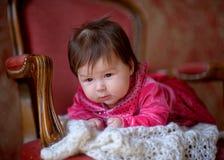 lyckligt nyfött för barn Arkivbild