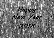 Lyckligt nytt år 2018 Royaltyfri Fotografi