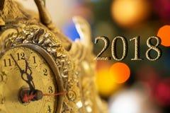 Lyckligt nytt år 2018 royaltyfria bilder