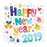 Lyckligt nytt år 2019