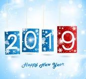 Lyckligt nytt år 2019 Royaltyfri Foto