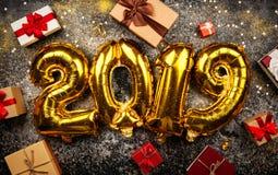 Lyckligt nytt år 2019 royaltyfri bild