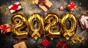Lyckligt nytt år 2020 arkivfoto