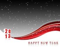 Lyckligt nytt år 2013 Stock Illustrationer