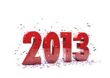 Lyckligt nytt år 2013 royaltyfria bilder