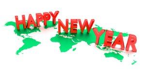 Lyckligt nytt år Arkivfoton