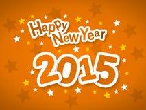 Lyckligt nytt år 2015 Fotografering för Bildbyråer