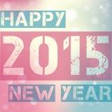 Lyckligt nytt år 2015 Royaltyfri Fotografi