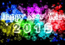 Lyckligt nytt år 2015 Royaltyfri Foto