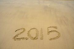 Lyckligt nytt år 2015 Royaltyfri Bild