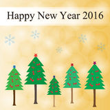 lyckligt nytt år Royaltyfria Foton