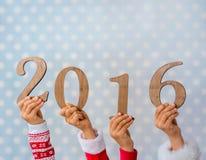 Lyckligt nytt år 2016 Arkivfoton