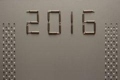 Lyckligt nytt år 2016 Royaltyfria Bilder
