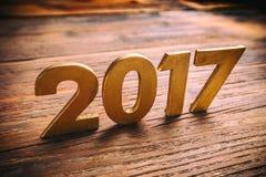 Lyckligt nytt år 2017 arkivfoton