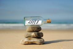 Lyckligt nytt år 2017 arkivbilder