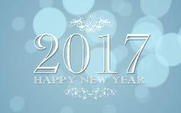 Lyckligt nytt år 2017 Arkivbild