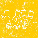 Lyckligt nytt år 2017 Royaltyfri Bild