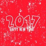 Lyckligt nytt år 2017 Royaltyfri Foto