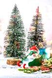 lyckligt nytt år för jul Royaltyfri Fotografi