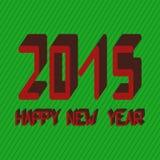 lyckligt nytt år för kort royaltyfri illustrationer