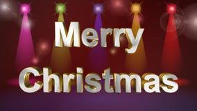 Lyckligt nytt år glad jul, bästa animering stock video