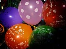 Lyckligt nytt år och glad jul i en ny väg Fotografering för Bildbyråer