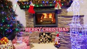 Lyckligt nytt år och Meryy jul 2019 royaltyfri illustrationer