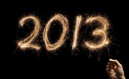 Lyckligt nytt år 2013 Royaltyfria Foton