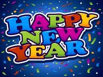 lyckligt nytt år Royaltyfria Bilder