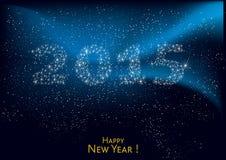 Lyckligt nytt år 2015 Arkivfoton