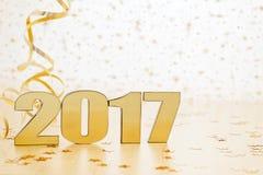 Lyckligt nytt år 2017 Royaltyfri Fotografi