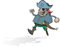 Lyckligt piratkopiera Royaltyfri Foto