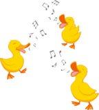 Lyckligt sjunga för and royaltyfri illustrationer
